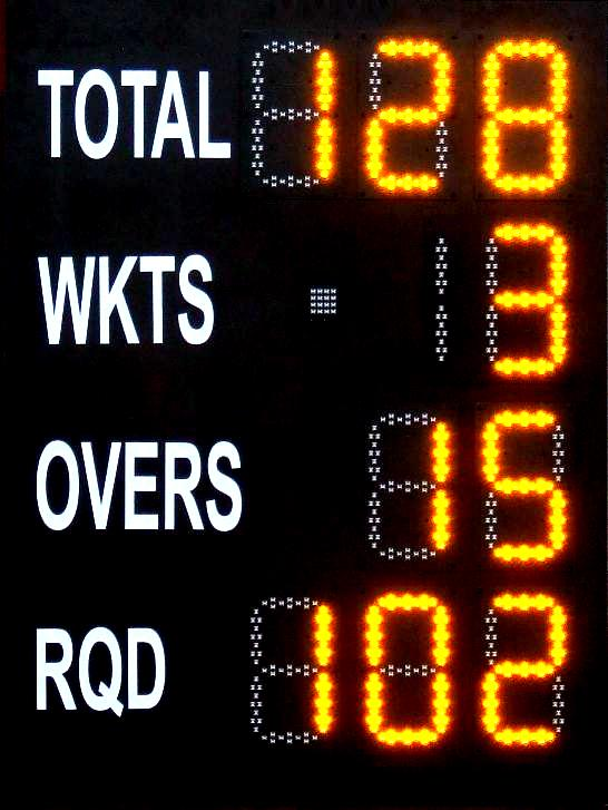 Cricket Clubs with a Bespoke Digital Electronic Scoreboard